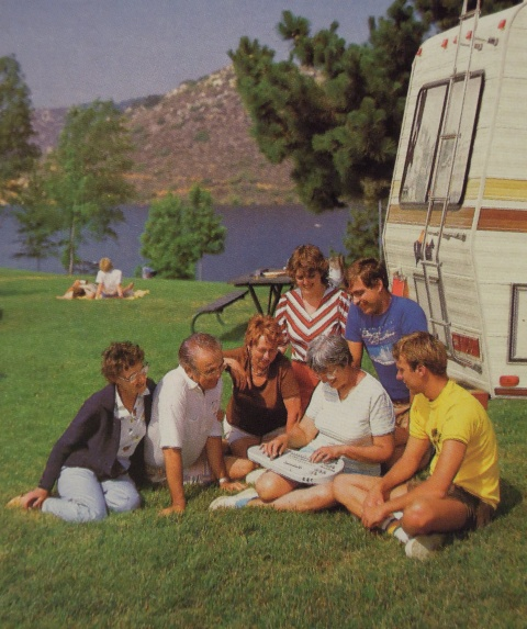 Family Camping with Omnichord